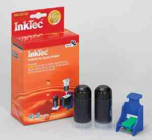 Inktec Matching refill kit for PG-510 / PG-512 Black Cartridges