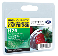 HP 51626A - No26 - Jettec Recycled Black Cartridge
