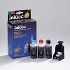 Matching InkTec refill kit for the C9368ee - No 100 Gray Cartridge
